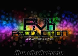 AVK Production Profesyonel Ses Kayıt Stüdyoları - Mix & Mastering