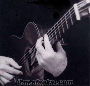 izmirde klasik ve akustik gitar dersi saati 25 tl