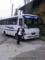 ankarada sahibinden satılık ısuzu klasik otobüs