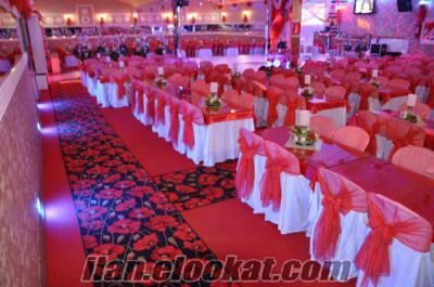 Düğün Salonu cafe için plantik masa sandalye