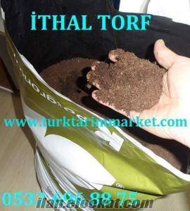 Ankarada ithal torf