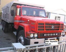 crysler dodge as 950 3 adet kamyon şirketten satlık