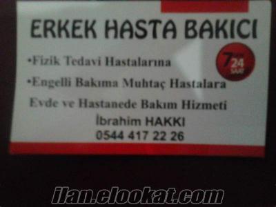 Ankara yatılı felçli erkek hastalara yatılı erkek bakıcı arayanlar