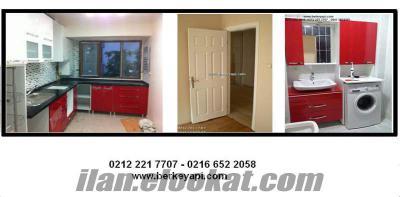 komple daire tadilatı kapı mutfak dolap boya fayans parke modelleri fiyatları
