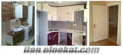 taksitle ucuz daire tadilatı mutfak yenileme banyo tadilat tesisat kapı dolap im