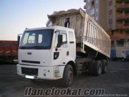 Elazığda 2530 ford cargo kiralık harfiyat kamyonu şoförüyle