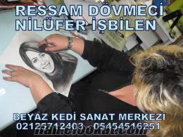 İstanbul dövme kursu verenler beyaz kedi tattoo