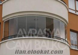 Ankarada cam balkon