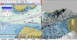 GPS ALICI + 3D HARİTA NAVIGASYON LAPTOPUNUZ CHARTPLOTTER OLSUN