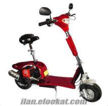 Bornovada benzinli scooter