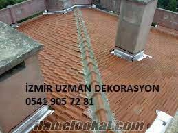 çatı tadilat ustası izmir uzman usta çatı izolasyon ustası izmir çatı yapım usta