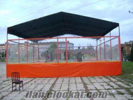 çatılı 8 li olimpik trambolin