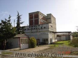 Mustafakemalpaşa da sahibinden satılık eski un fabrikası
