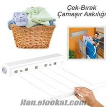 çek-as pratik çamaşır askılığı
