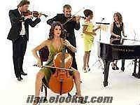 istanbul çiğan trio müzik ekibi keman piyano gitar ayrıca cellist