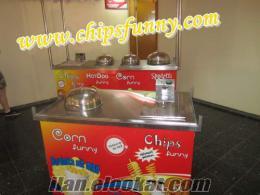 Çubukta patates-Bardakta Mısır-Hotdog Standlarında Kampanya-chipsfunny-bypatato