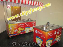 Çubukta patates-bardakta mısır-hotdog ve Tüm stand çeşitlerinde süper fiyatlar!!