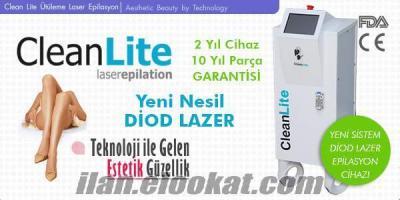 CleanLite Diod Lazer Ütüleme Epilasyon