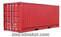 satılık yük konteyner - ikinci el- yük konteyner