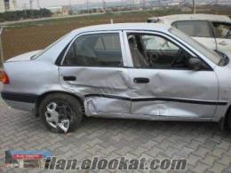 Hasarlı Toyota corolla yedek parça Konya Toyota araclarin