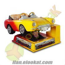 Kiddie Rides Jetonlu Corvette Araba