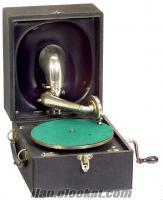gramafon decca antika satılık yıl 1924 gsm