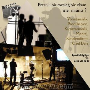 Yönetmenlik, Kameramanlık, Prodüksiyon Eğitimi