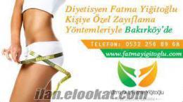 İstanbul Bakırköy diyetisyenler