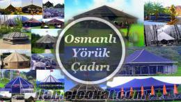 Osmanlı Yörük Çadırı Kaliteli Kıl Çadır