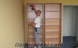 ikea mobilya montaj servisi, mutfak montaj ustası, gardrop montajı, avize, masa