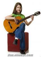 Mersinde Gitar, Elektro Gitar, Bas Gitar Kursları