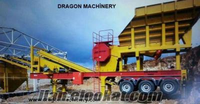 Seyyar Primer Kırma Eleme Tesisleri Dragon 9000