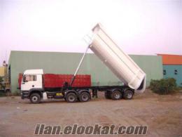 satılık sıfır damper dorse küçük damper lowbet tandem tankerler treyler