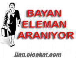 Sekreter-Bayan Eleman Alınacak- Antalya