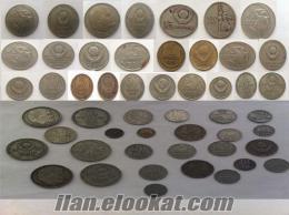 USSR COINS COLLECTION /Sovyetler dövrüne ait sikke kolleksiyonu