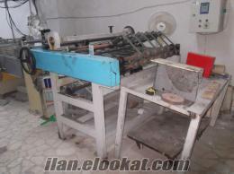satılık kağıt non woven ebatlama makinası