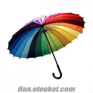 Toptan Gökkuşağı Şemsiye, toptans.net