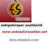 eskişehirspor anahtarlık eskişehir anahtar
