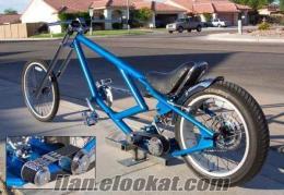 özel yapım chopper bisikletler