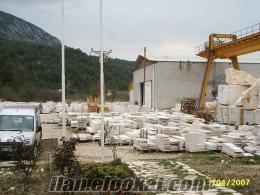 Vezirhanda mermer fabrikası