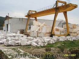 Bilecik Vezirhanda mermer fabrikası