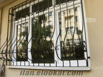 Demir Pencere ve Merdiven Korkulukları Bahçe Demirleri Çelik Çatı Fiyatları