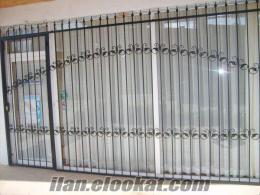 ferforje, merdiven cam ve balkon korkuluğu, çelik çatı işleri
