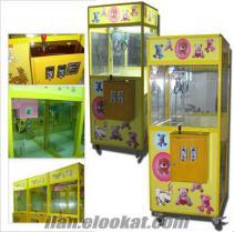oyuncak kapma makinası ( kepçe )