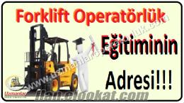 Forklift Operatörlük Eğitimi