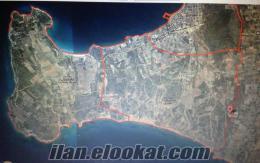 Cesme Musalla Mahalesi 6826 m2 Tarla altinkum kuzeyi turizim merkezi