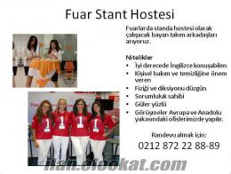 stand hostesi aranıyor