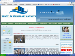 Antalyada satılık temizlik firması