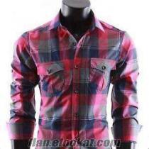 Toptan ucuz Gömlek bay bayan gömlekler 6 8 10 TL