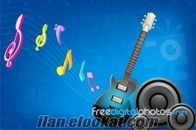 küçükkuyu asos altınoluk akçay için alo ses sistemli gitarist mızıka sanatçısı